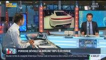 Salon de l'automobile de Francfort: Porsche dévoile sa berline 100% électrique - 15/09