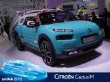 Citroën Cactus M en direct du salon de Francfort 2015