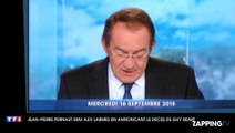 Mort de Guy Béart : Jean-Pierre Pernaut bouleversé dans son JT de 13 Heures sur TF1