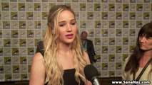 Interview with Jennifer Lawrence for The Hunger Games Mockingjay - Part 2 at 2015 San Diego Comic Con.