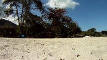 Busca e Retirada de metais ferrosos e não ferrosos das areias, Ubatuba, SP, Brasil,  2015, Parte (14)