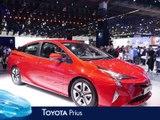 Toyota Prius en direct du salon de Francfort 2015