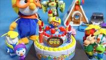 Désolé, le harcèlement, la délicate Rong pororo mélodie gâteau d'anniversaire Lac de la ville. Frank jouet Pororo Gâteau de jouets et jouets Tayo