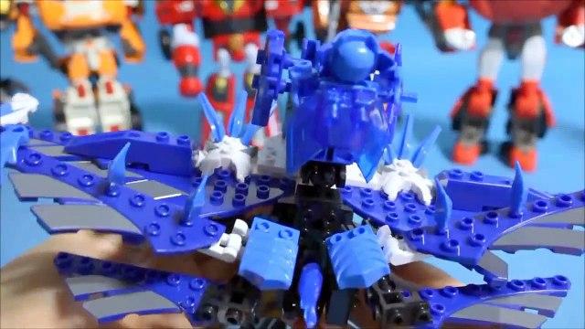 Dix voiture ou dans la rue volt-jet Torrox identifié ou robot zéro LEGO Simpsons jouets Tobot & Tenkai knights Boulon de zet