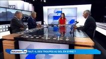 Parlement'air - Forces aériennes en Syrie : débat entre Axel Poniatowski (LR) et Philippe Baumel (PS)