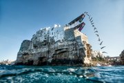 Jumping from Italian Cliffs- Red Bull Cliff Diving World Series 2015