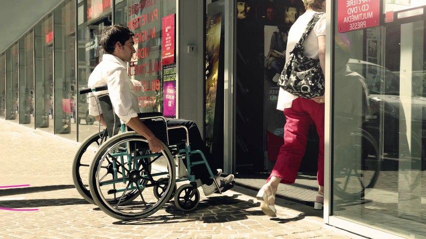 """#AccessibleaTous """"POUSSETTE DE COURSE"""""""