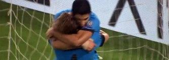 Gol de Luis Suarez Roma vs Barcelona 0-1 2015