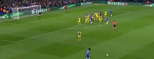 Willian Amazing Free Kick Goal Chelsea vs Maccabi Tel Aviv 1-0 UEFA 16_09_2015