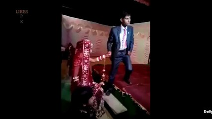 Most Embarrassing Moment in Dulha's Life Caught On Cam