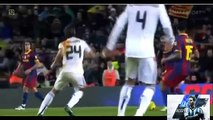 Ramos= RED CARD???! Ramos hits Messi.