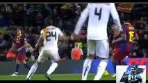 Ramos= RED CARD???! Ramos hits Messi.