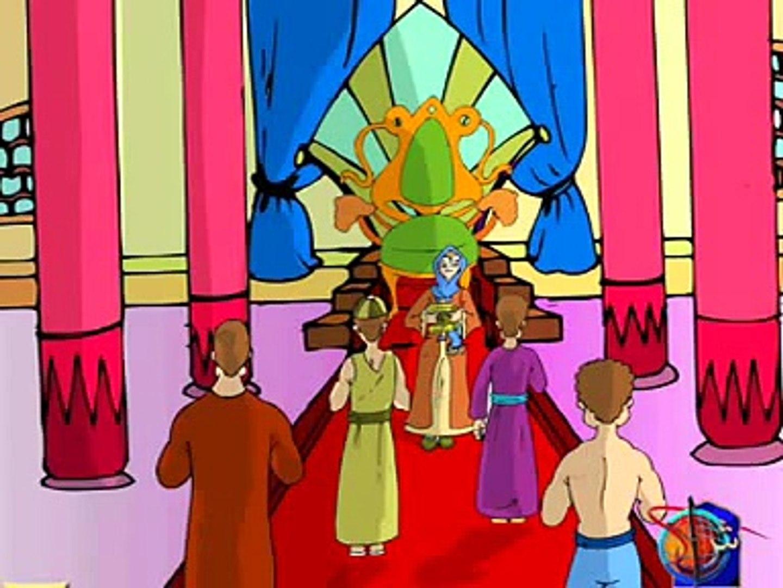 قصة هدهد سليمان كاملة , قصص القرأن , كرتون