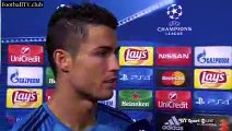 Real Madrid vs Shakhtar Donetsk 4  0 - Cristiano Ronaldo post-match interview