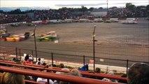 """Course de voitures la plus dangereuse au monde - """"Enduro Figure 8"""" dans la quelle les pilotes se croisent à pleine vitesse"""