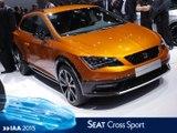 Seat Leon Cross Sport en direct du salon de Francfort 2015