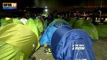 Paris: deux camps de migrants évacués dans le calme