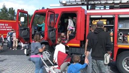Portes ouvertes pompiers de Lamballe
