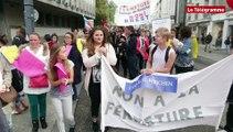 Brest. 150 personnes contre les fermetures de collèges