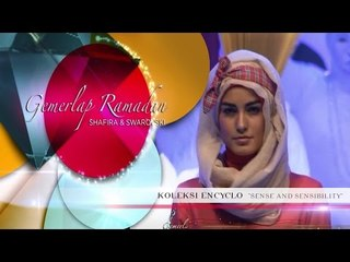 Fashion Show Shafira Encyclo - Chakra Khan - Sense & Sensibility ​​​| Beauty Hijab Tutorial