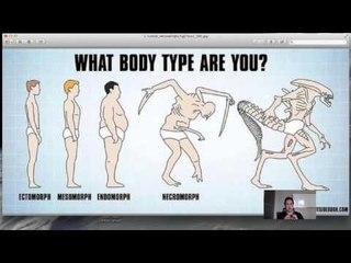 Tipe Tubuh Manusia - Ectomorph, Mesomorph & Endomorph