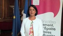 Colloque BIM-Maquette numérique : message de Sylvia Pinel, ministre du Logement, de l'Egalité des territoires  et de la Ruralité