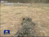 Chinese sniper can hit knife blade 60 meters away
