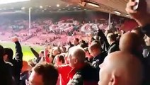 Liverpool Vs Manchester United 1-2 - 'Gerrard Fucked It Up' Chant At Anfield - March 22 2015