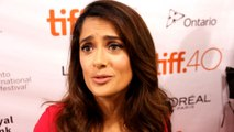 Exclusive Interview: Salma Hayek gets emotional at Toronto Film Festival