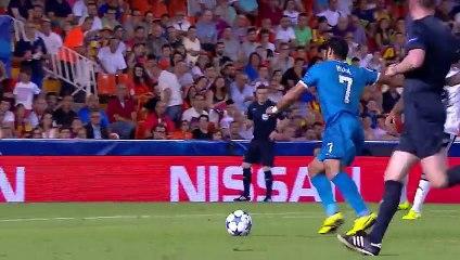 Hulk despedazó al Valencia: no te puedes perder su segundo gol en Champions League (VIDEO)