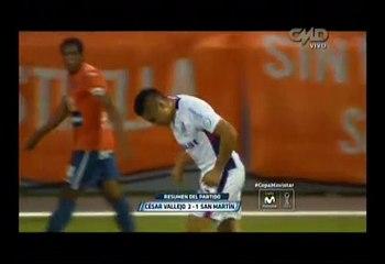 Torneo Clausura: Vallejo venció 2-1 a San Martín en Trujillo
