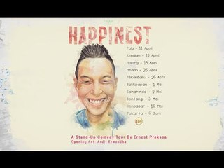 Ernest Prakasa #HAPPINEST Tour - Teaser #1