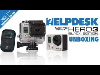 Go Pro Hero 3 Black Edition UNBOXING (SAVE AS presents - HELPDESK)
