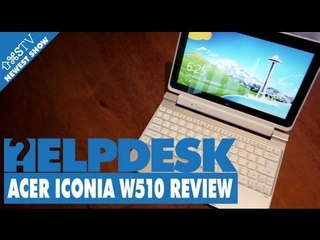 ACER ICONIA W510 REVIEW (Save AS presents - HELPDESK)
