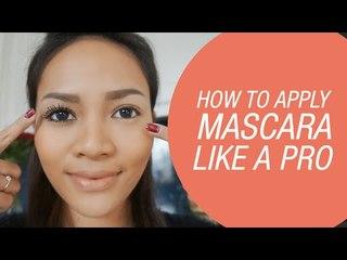 How To Apply Mascara Like a Pro by Rachel Goddard