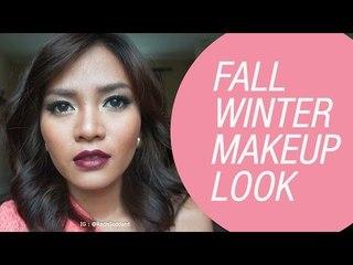 Fall/Winter Makeup Tutorial by Rachel Goddard