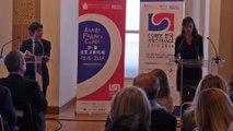 Année France-Corée 2015-2016 // conférence de presse, présentation de l'Année par les commissaires généraux