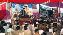 Allama Shahid Abbas Malik Bro of Shaheed Allama Nasir Abbas 6 April Salana Majlis Mailsi