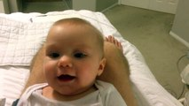 Baby Maisy Laughing at Daddys Sneezes funny clip with latest original video | funnu clips 2015