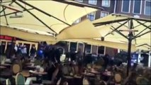 Des supporters marseillais saccagent un restaurant