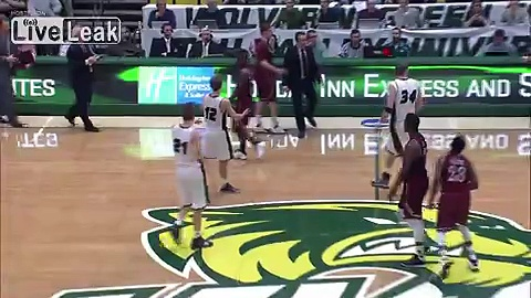 **FIGHT** at College Basketball game