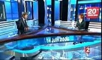 Mylene Farmer au JT de Laurent Delahousse sur France 2 !
