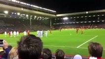 Liverpool Vs FC Basel 1-1 - Steven Gerrard Fantastic Goal - December 9 2014