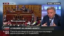 Brunet & Neumann: Absentéisme à l'Assemblée nationale: Les députés se moquent-ils des Français ?- 18/09