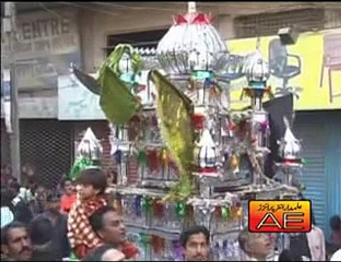 Alam Abbas Te Video Noha by Zakir Hussain Zakir Nohay 2008