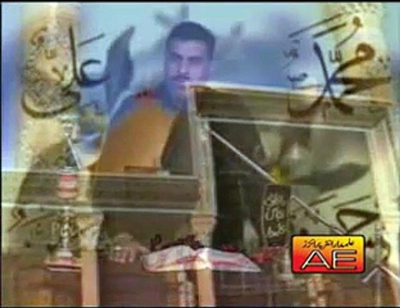 Rul Gaey Doo Video Noha by Zakir Hussain Zakir Nohay 2008