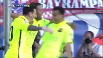 Atletico Madrid Vs Barcelona 0-1 - Lionel Messi Goal - May 17 2015 - [High Quality]