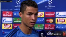 Real Madrid 4-0 Shakhtar Donetsk - Cristiano Ronaldo post-match interview