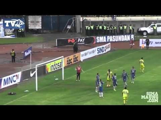 Highlights Persib vs Arema ISL 2014