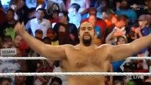 Cesaro  vs Rusev Monday Night Raw September 14 2015 Full Match HD WWE Wrestling On Fantastic Videos